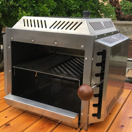 Portable Infrared Burner Beef Barbecue Grill