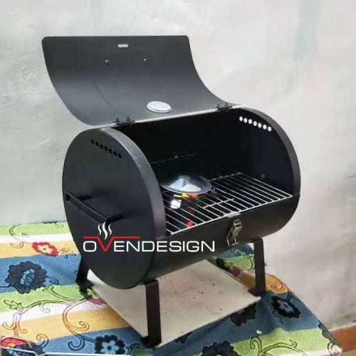 Portable Wood-fired Barbecue Smoker-Designed by Ovendesign