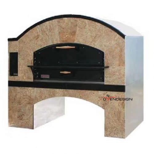 Pre-built Charcoal Wood Fired Pizza Oven With Separate Food Room-Ovendesigns