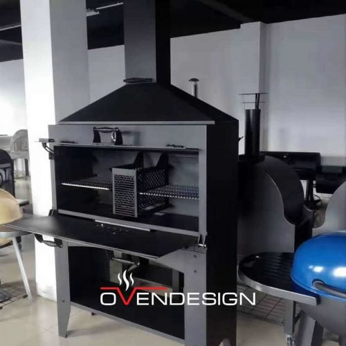 Rear Heating Gas-fired barbecue grill-Ovendesing