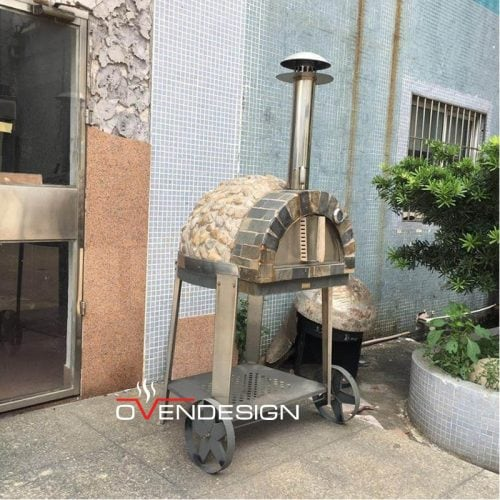 Traditional Wood-fired Pizza Oven-W104-Designed by Ovendesign-1