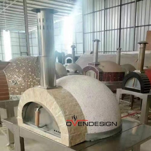 Traditional Wood-fired Pizza Oven light weight-W101-Designed by Ovendesign-.jpg