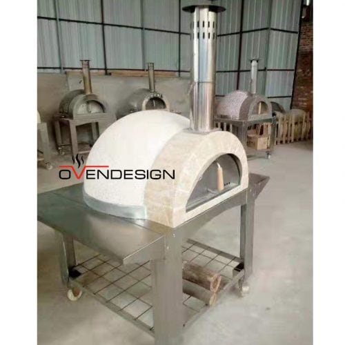 Traditional Wood-fired Pizza Oven light weight-W101-Designed by Ovendesign-1.jpg