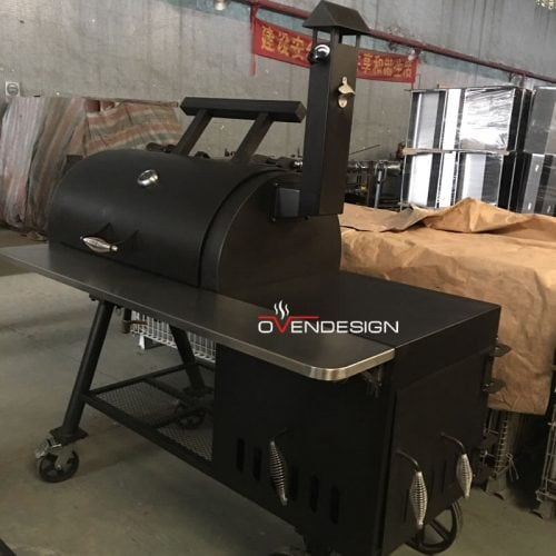 Trolley Barbeque Smoker Outdoor BBQ Grill-Ovendesigns
