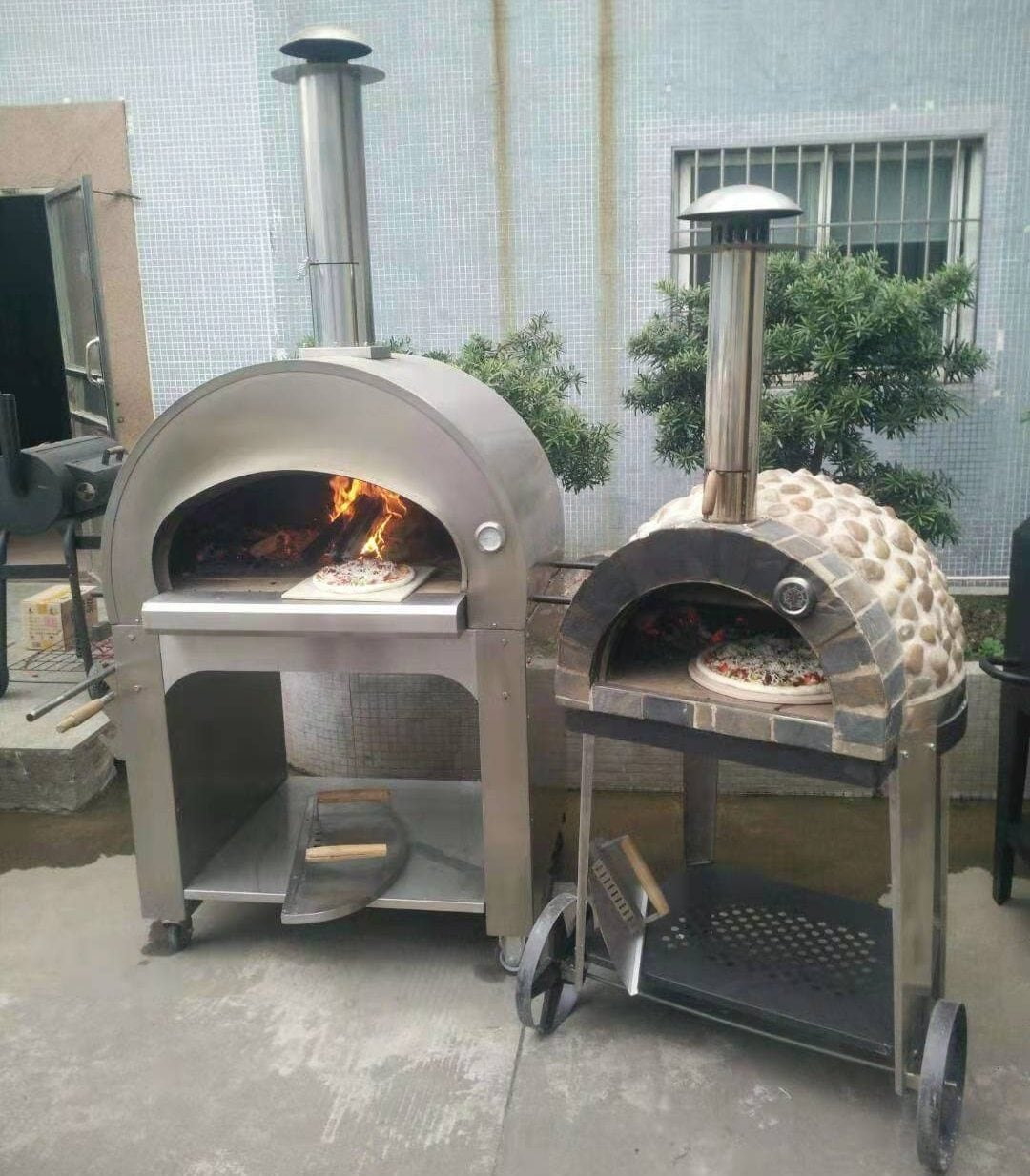 Traditional Pizza Oven-Ovendesign