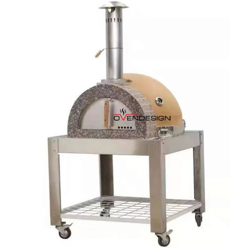 Wood Fire Clay Pizza Oven-Ovendesigns