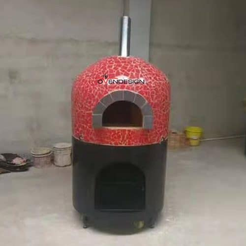 Wood Fire Pizza Oven Mosaic-Ovendesigns