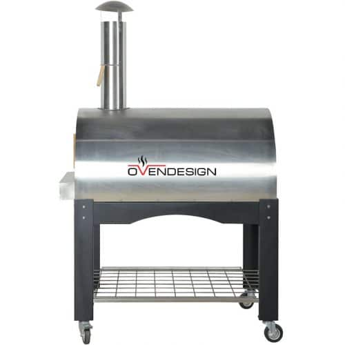 Wood Fire Pizza Oven Stainless Steel-Ovendesigns-2 (2)