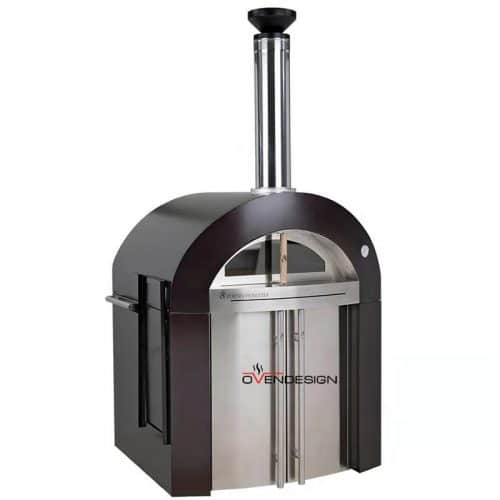Wood Fire Pizza Oven Stainless Steel-Ovendesigns (5)