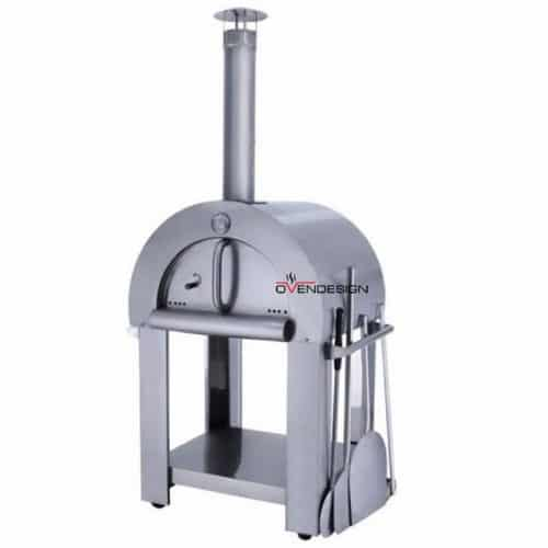 Wood Fire Pizza Oven Stainless Steel-Ovendesigns