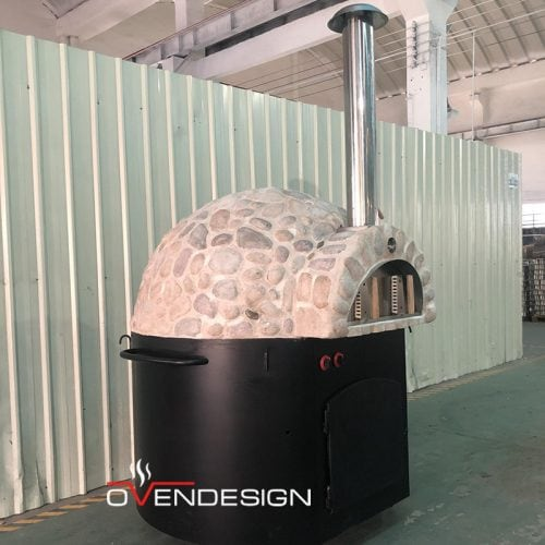 Wood Fired Pizza Oven Art Stone-Ovendesign