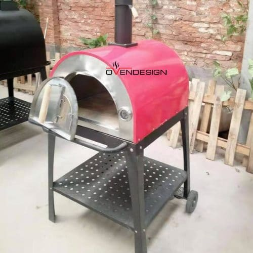 Wood Fired Pizza Oven Metal Colorful-Ovendesigns