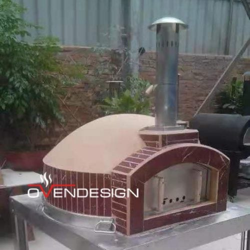 Wood fire pizza oven Clay-Ovendesign-2