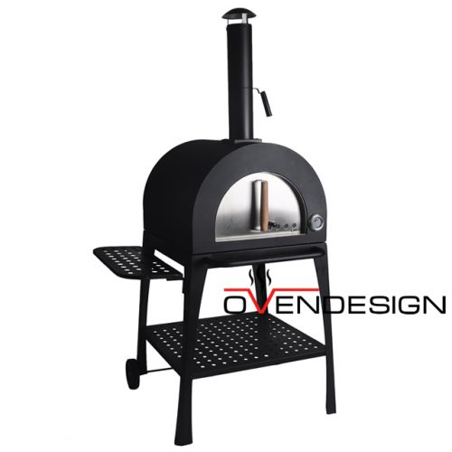 Wood fire pizza oven metal-Ovendesign-1