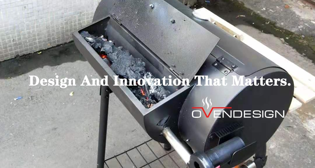 New heating method for your Pizza Oven or BBQ grill-Ovendesign