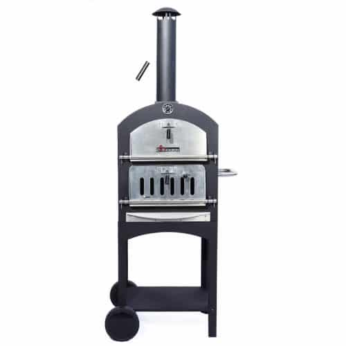 Outdoor Pizza Oven,Wood Fired Double Door Pizza Oven,Perfect For Outside Cooking