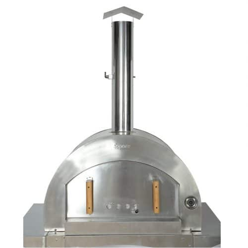 Wood Fire Pizza Oven Stainless Steel