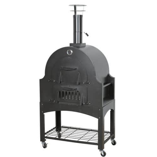 Outdoor Pizza Oven,Wood Fired Double Door Pizza Oven