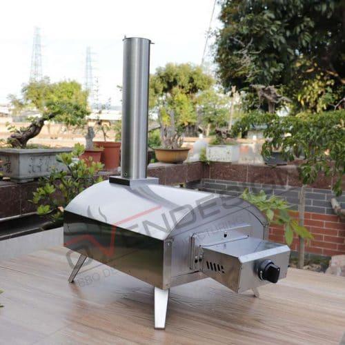 Portable Gas Outdoor Pizza Oven QQG-1-S (1)