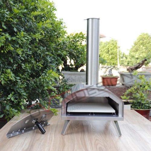 Portable Gas Outdoor Pizza Oven QQG-1-S (7)