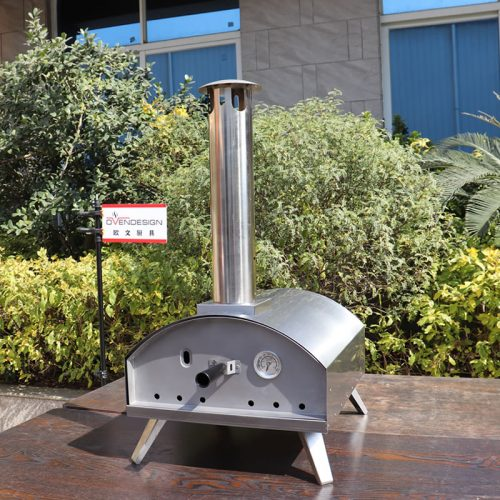 Portable Gas Outdoor Pizza Oven, Stainless steel outdoor pizza oven QQG-2-S