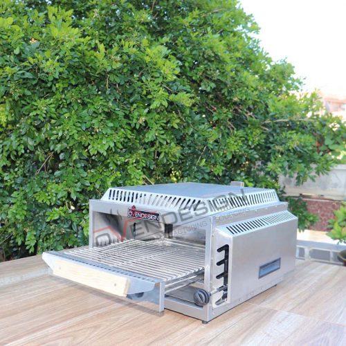 Portable Upper Infrared Burner Pizza Oven NPG-5 (1)