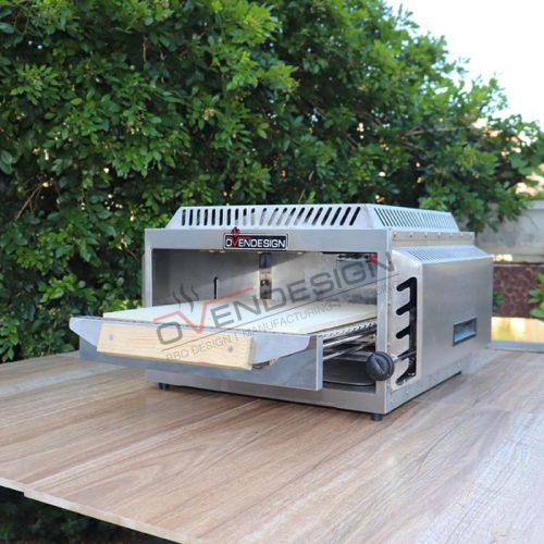 Portable Upper Infrared Burner Pizza Oven NPG-5 (2)