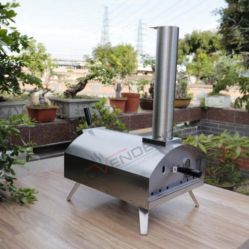 Portable wood-fire Outdoor Pizza Oven QQW-1-S (3)