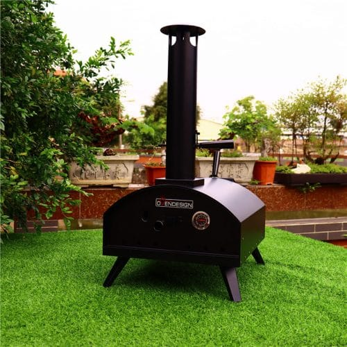 Homemade pizza oven temp high quality with material stainless steel