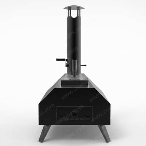 Wood-fired pizza oven outdoor pizza oven