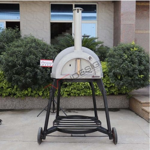 Wood-Fried Clay Pizza Oven CLAY-W-800-1 (1)