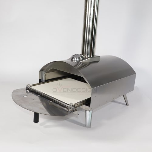 Gas Powered Pizza Oven 4