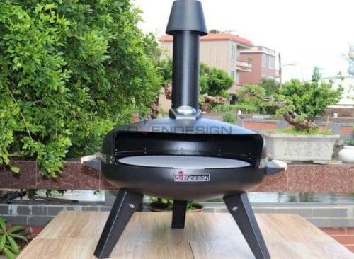 Gas Type Circle Pizza Oven (1)