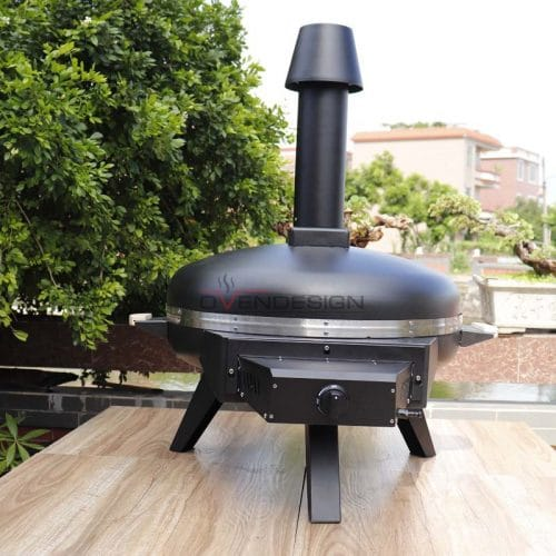 Gas Type Circle Pizza Oven (2)