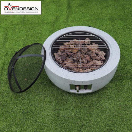 Portable BBQ Grill Gas Type Pizza Oven (3)