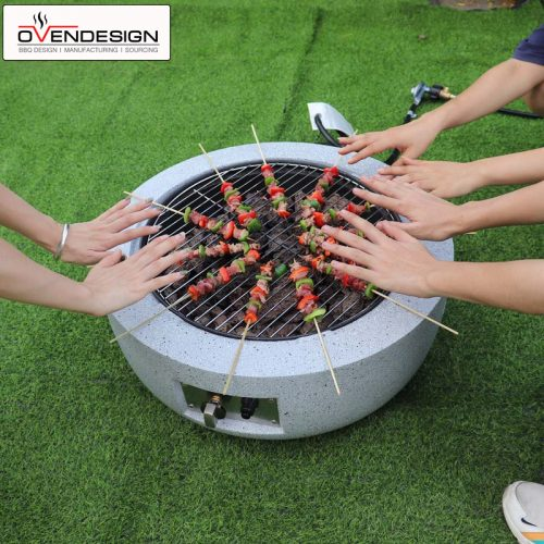 Portable BBQ Grill Gas Type Pizza Oven (8)