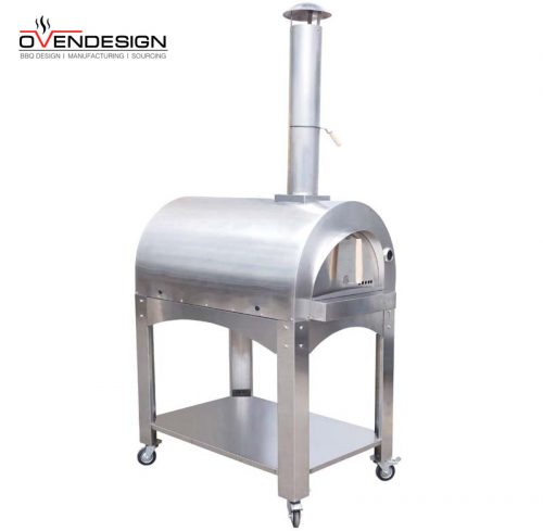 stainless steel pizza oven wood burning pizza oven for outdoor(1)