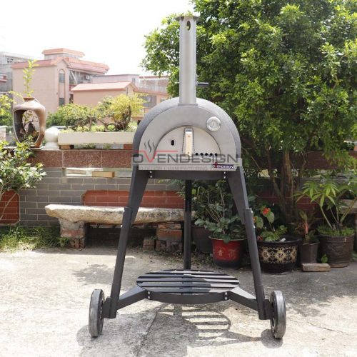 Clay Pizza Oven Clay-W-600-3-B1(1)