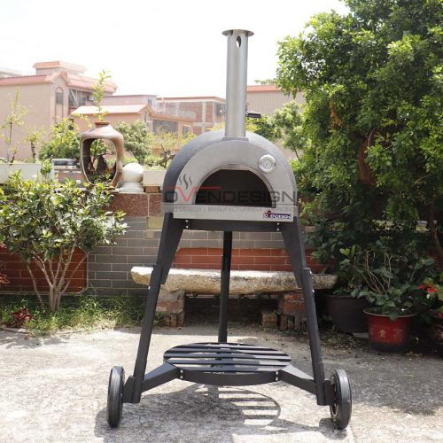Clay Pizza Oven Clay-W-600-3-B1(5)