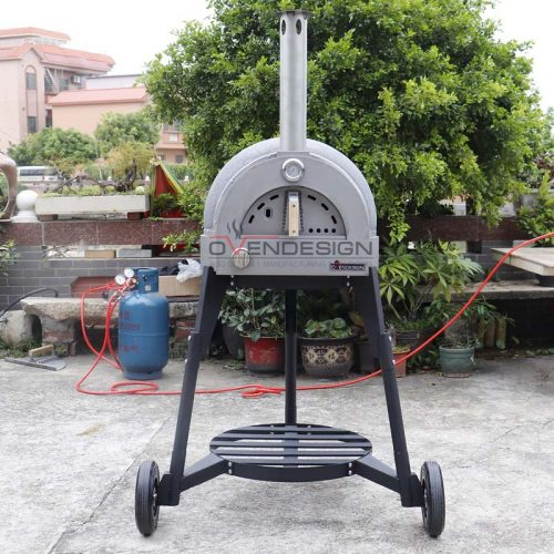Gas Type Clay Pizza Oven Clay-G-600-1-B1(1)