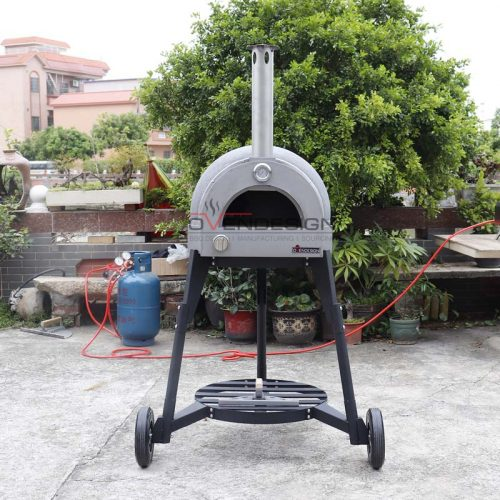 Gas Type Clay Pizza Oven Clay-G-600-1-B1(3)