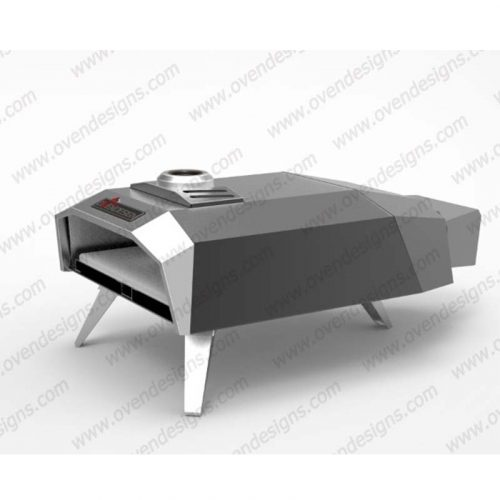 Gas type portable pizza oven UFO-G-P-1(5)