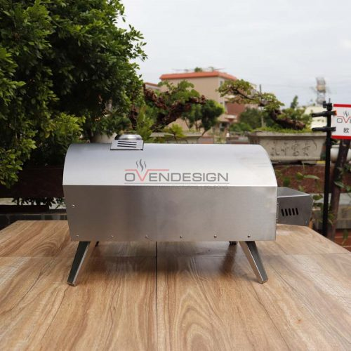 Outdoor Portable Free Installation Stainless Steel Gas Pizza Oven QQ-G-S-3(2)