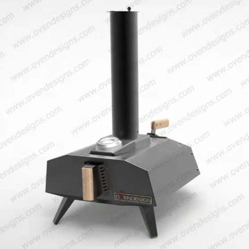 Wood-fired portable pizza oven UFO-W-P-1(1)