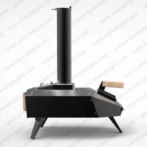Wood-fired portable pizza oven UFO-W-P-1(3)